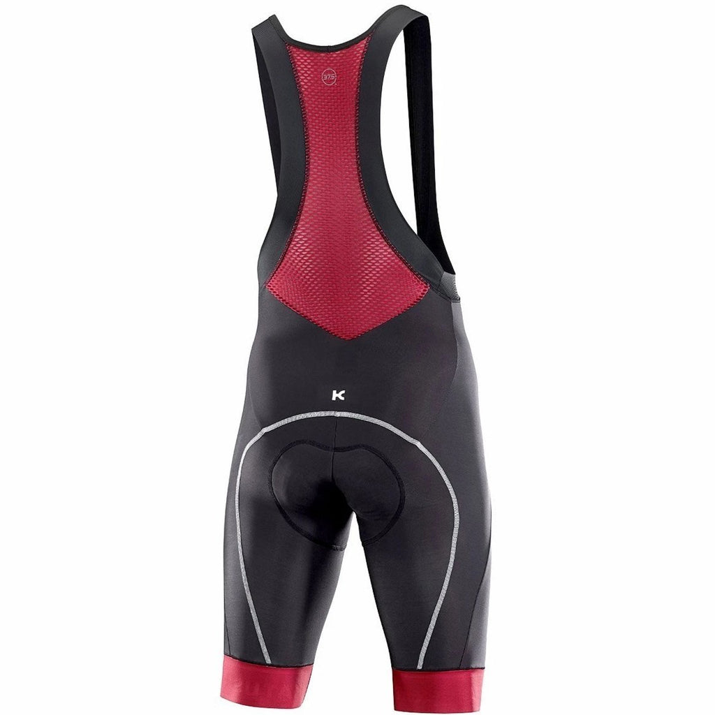 Katusha WARM DWR Cycling Bib Shorts - Black Sangre
