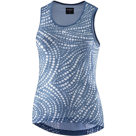 Katusha Women ALLURE Cycling Cycling Base Layer Sleeveless - Native Stellar