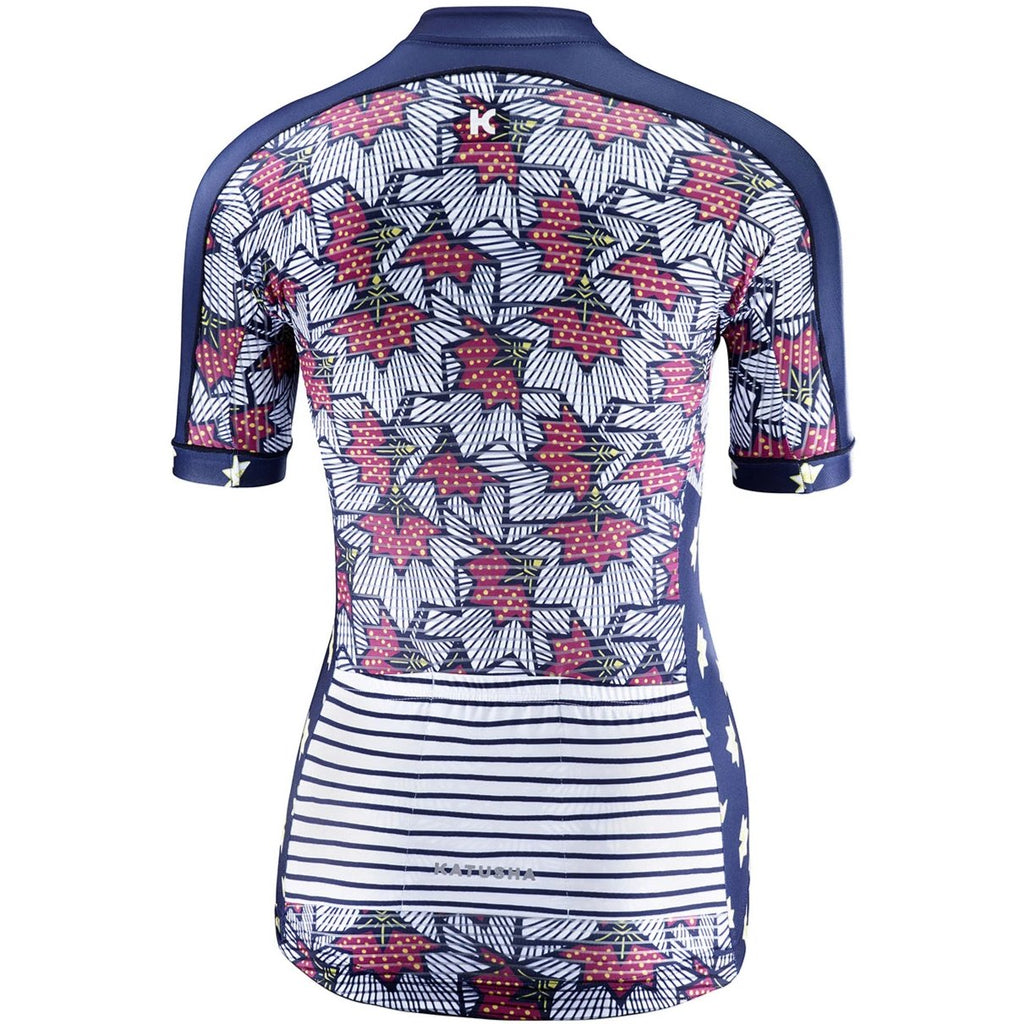 Katusha Women ALLURE Cycling Jersey Short Sleeve - Pattern Mix