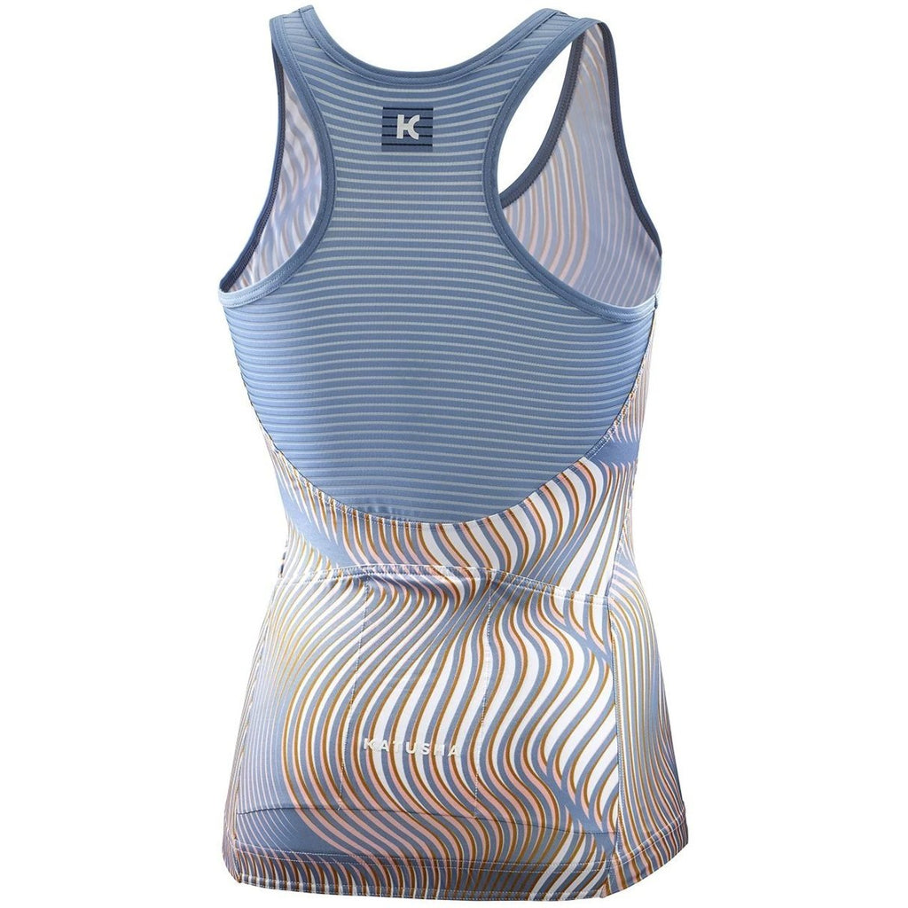 Katusha Womens ALLURE Cycling Jersey Sleeveless - AOP Warp Citadel