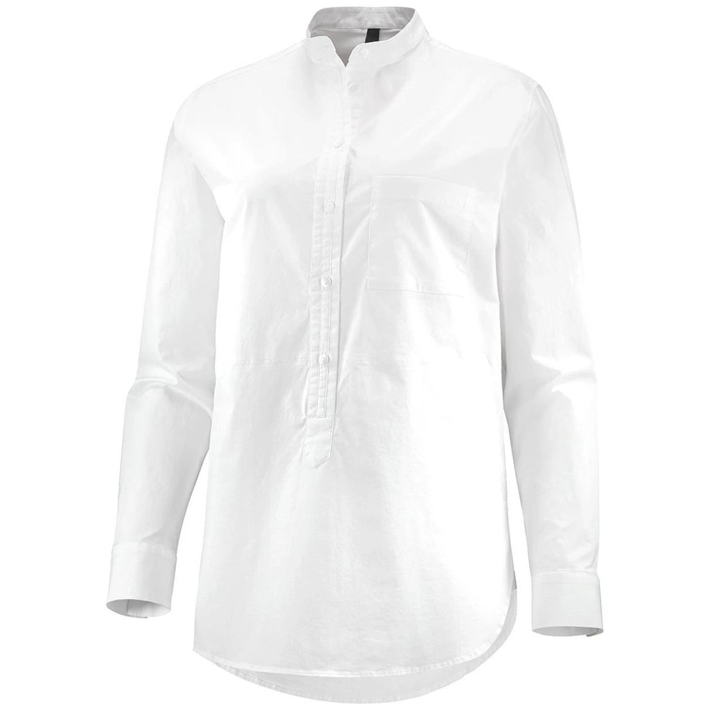 Katusha Womens Cycling Commuter BLOUSE Shirt - White
