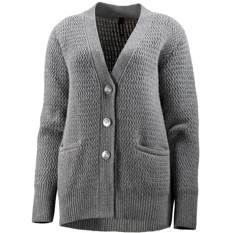 Katusha Womens CARDIGAN - Iron Gate
