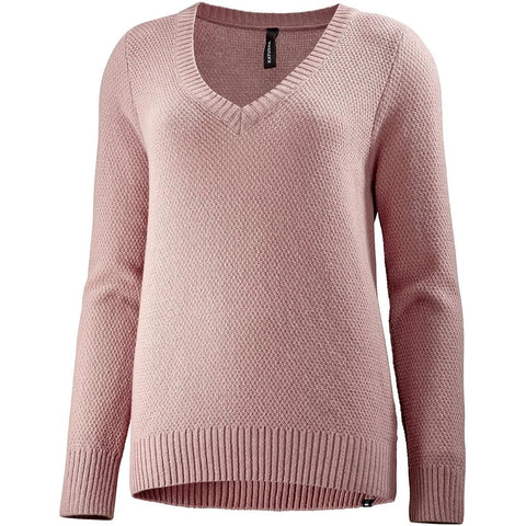 Katusha Cycling Womens MERINO Sweater - Woodrose