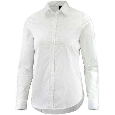 Katusha Womens SLIM Shirt Long Sleeve - White