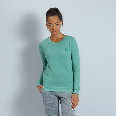 Katusha Womens SWEATSHIRT - Duck Green