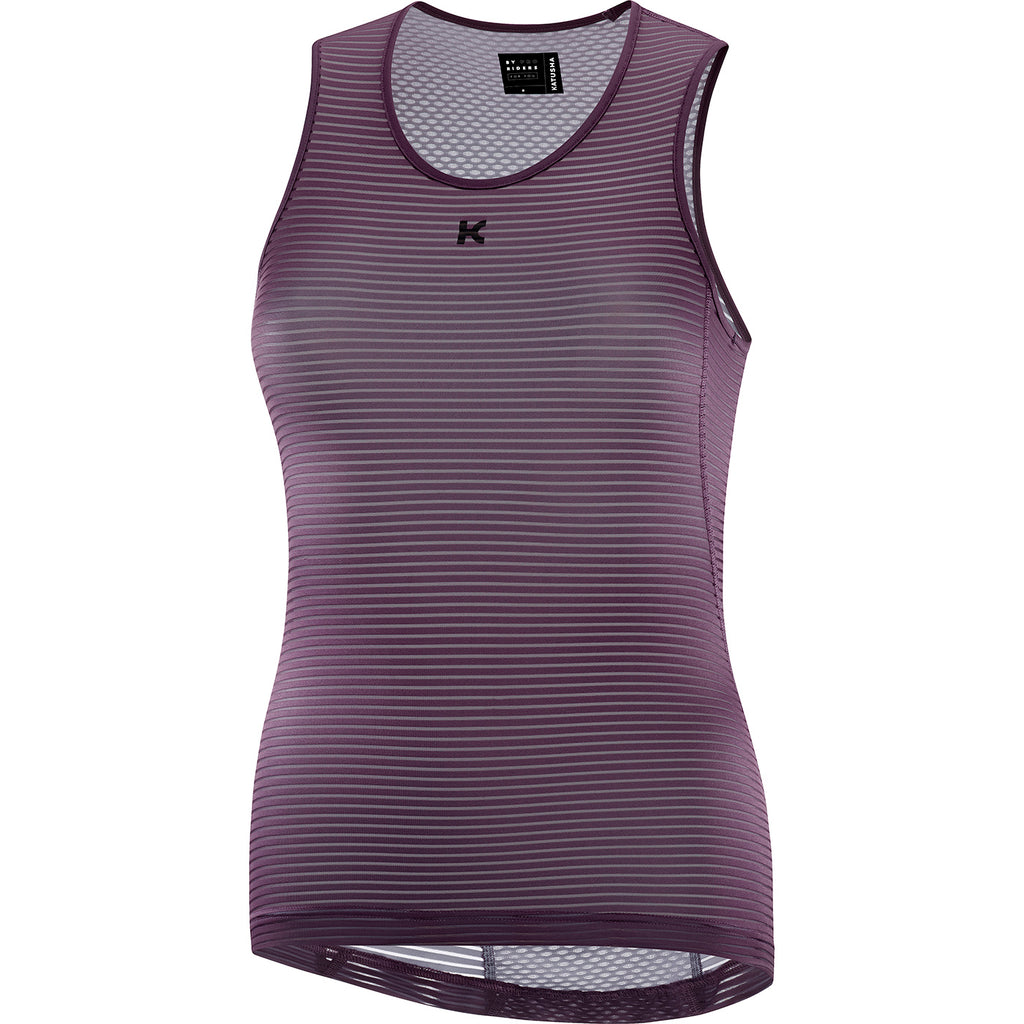 KATUSHA Women's Allure Cycling Base Layer - Plum Wine
