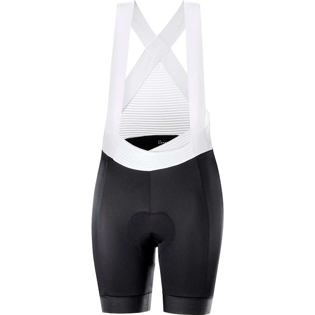 KATUSHA Women'sALLURE Bib Shorts - Black / White