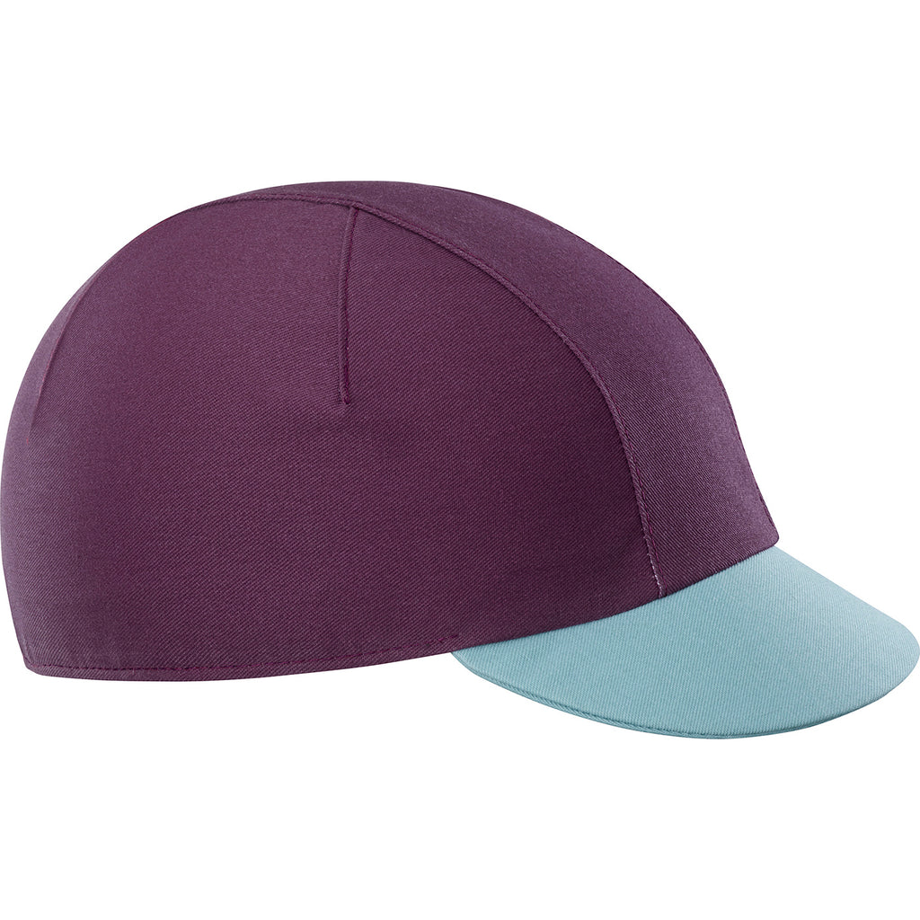KATUSHA Women's Allure Cycling Cap - Plum Wine/Blue Surf