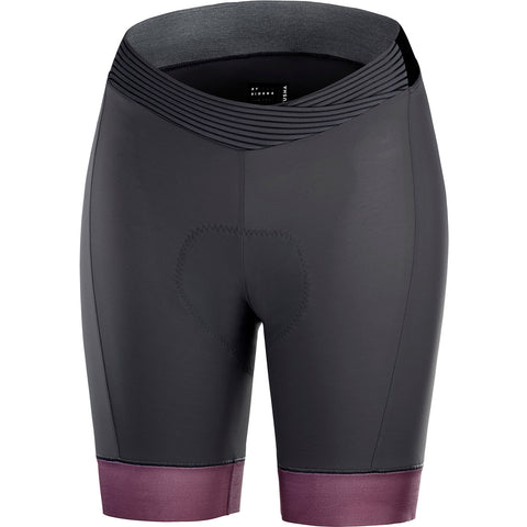 KATUSHA Women's Allure Cycling Shorts - Asphalt/Plum Wine