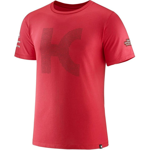 Katusha TEAM KATUSHA 2018 T-Shirt Short Sleeve - Coral