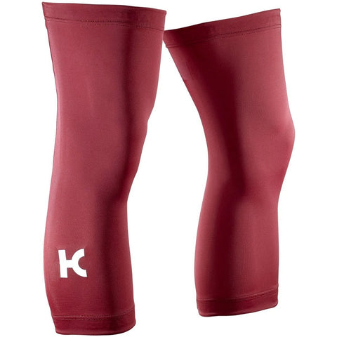 Katusha TEAM KATUSHA Fleece Cycling Knee Warmers - Sangre