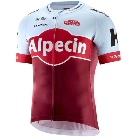 Katusha REPLICA Short Sleeve Cycling Jersey 2018 - Sangre Blue
