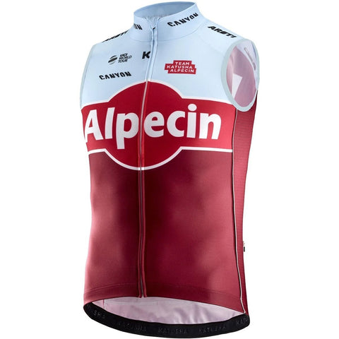 Katusha Cycling REPLICA Wind Vest 2018 - Sangre Blue