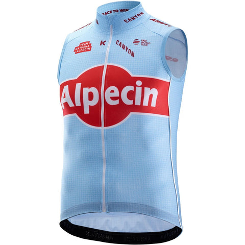 Team Katusha Alpecin Cycling Vest - Light Blue