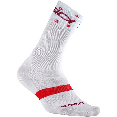 Katusha TEAM KATUSHA 2018 Summer Socks Long - White