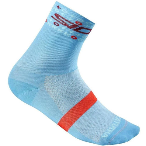 TEAM Mid Socks - Light Blue