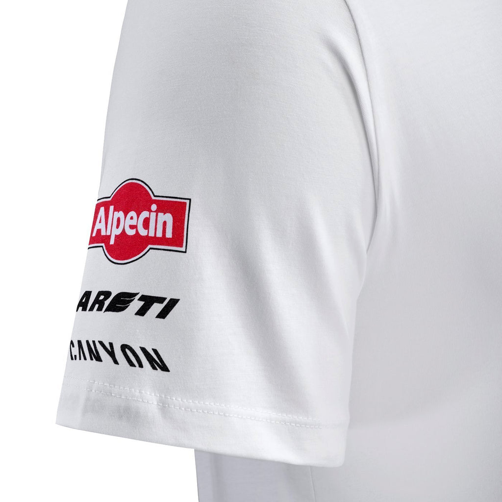 Team KATUSHA ALPECIN 2018 T-Shirt Short Sleeve - White TDF