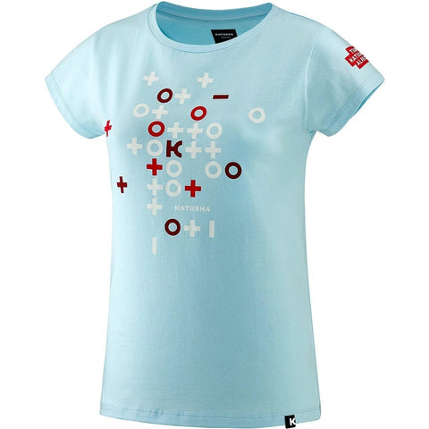 Katusha Womens TEAM KATUSHA 2018 T-shirt Short Sleeve - Women - Light Blue