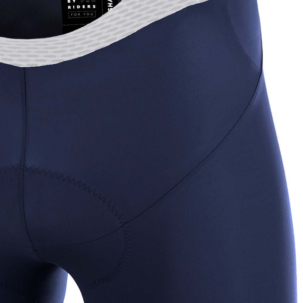ICON Bib Shorts - Peacoat Blue / White
