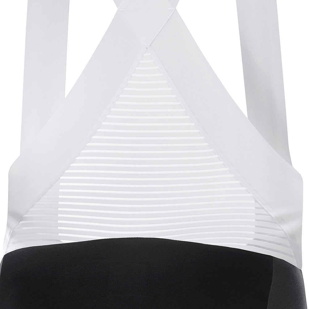 ALLURE Bib Shorts - Black / White