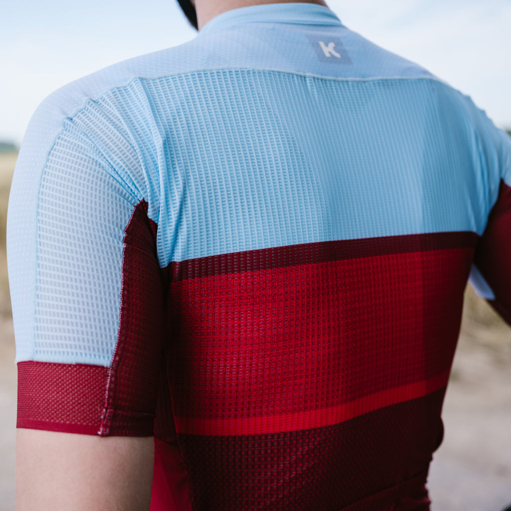 SUPERLIGHT Jersey - Sangre / Light Blue