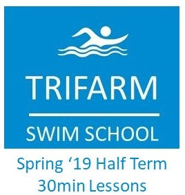 Trifarm Swim School - 28/2/19 to 4/4/19 - 30 minute session pass