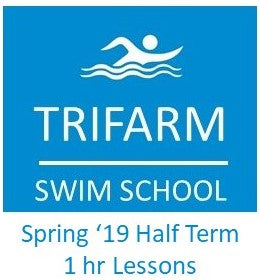 Trifarm Swim School - 28/2/19 to 4/4/19 - 60 minute session pass