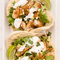 Fish Tacos with Chilli Pineapple Salsa