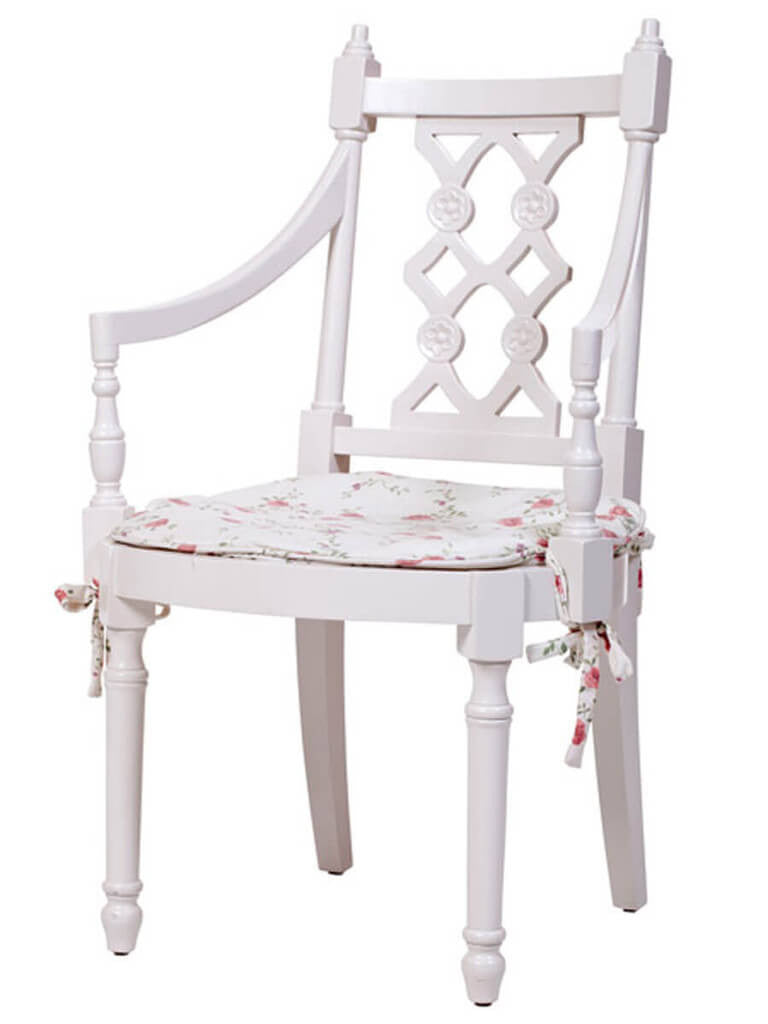 Linean White Chair