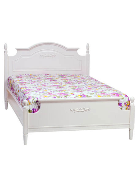 Flower Design Cotton Bed