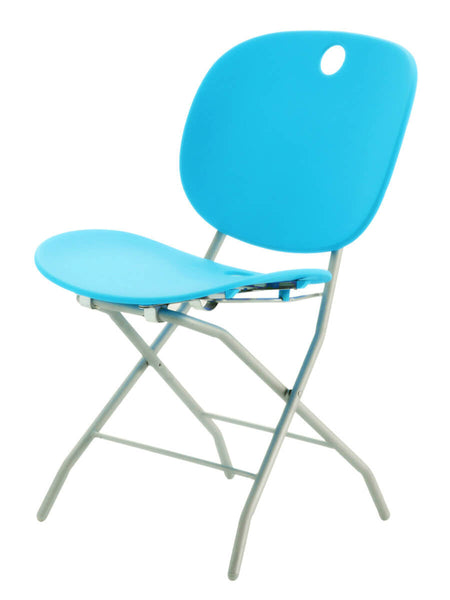 Skyblue folding chair