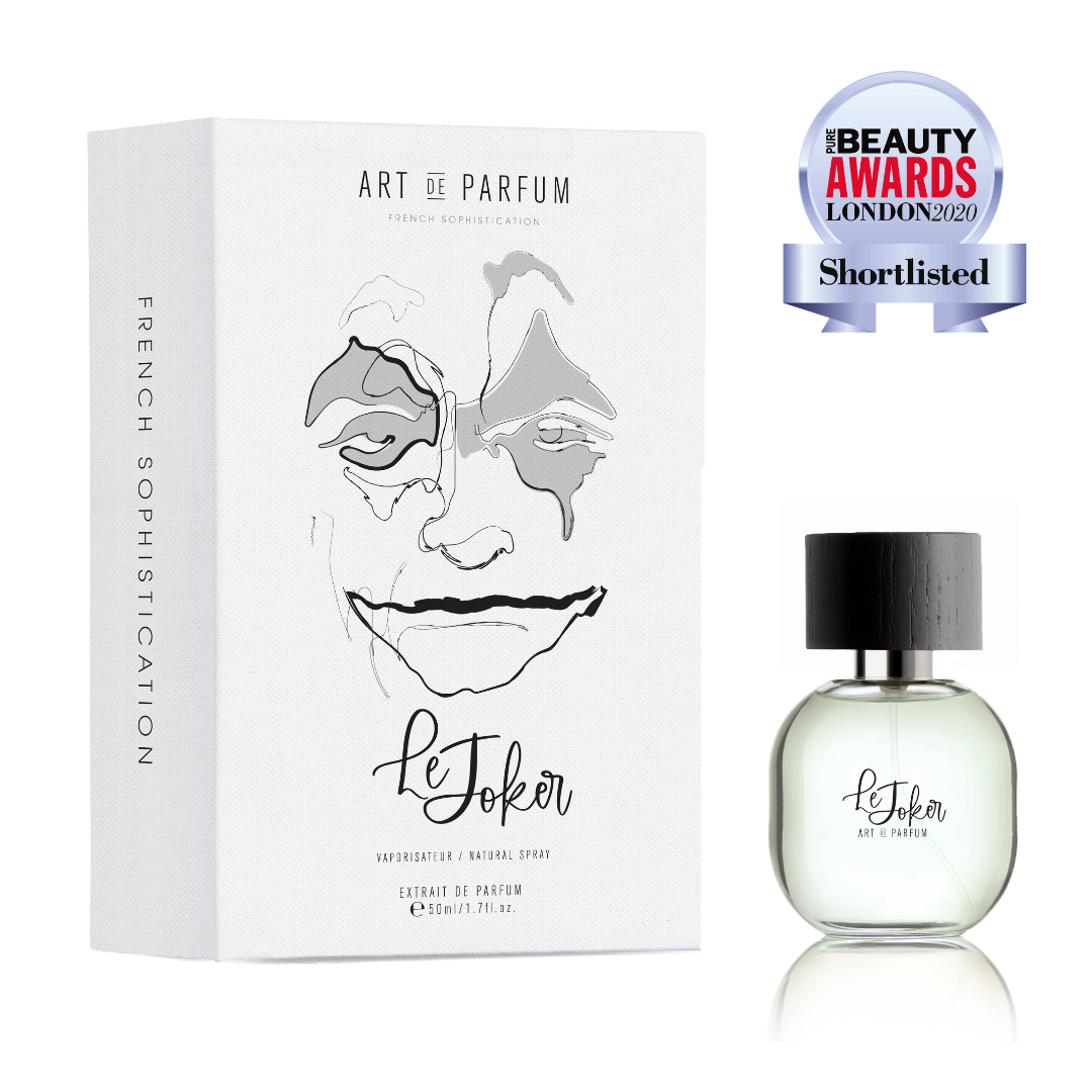 Le Joker Short Listed For Best Niche Fragrance In Pure Beauty Awards