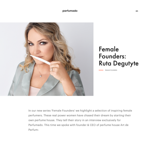Female Founders by Parfumado