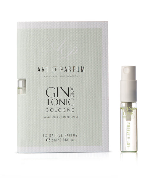 Gin and Tonic Cologne Sample