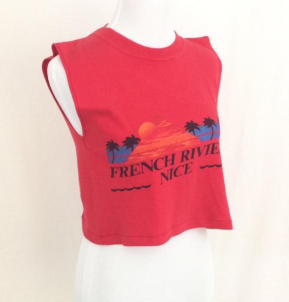 1980s French Travel T-shirt