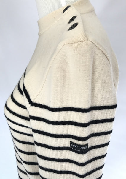 Saint James Fisherman Sweater