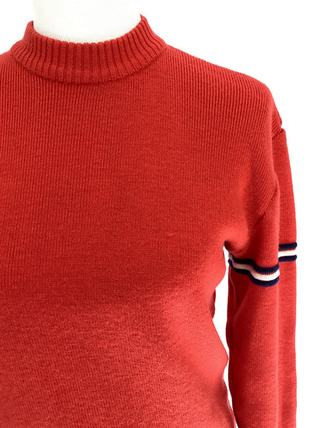 1980s French Ski Sweater