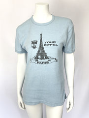 1970s Eiffel Tower Souvenir T-Shirt