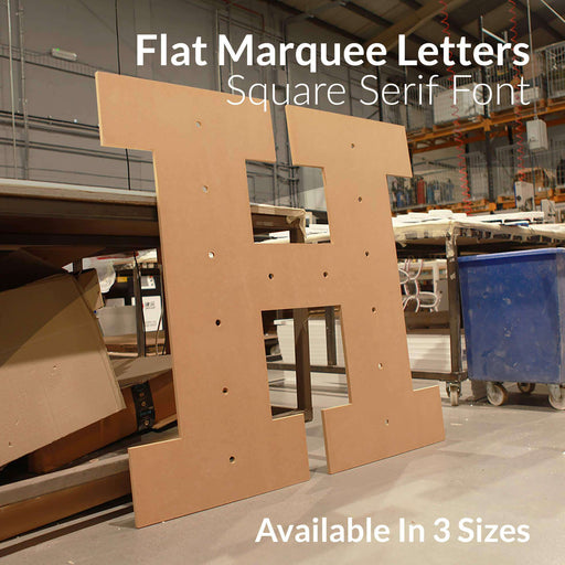 Marquee Letters - Square Serif Font Marquee Letters WeLoveLeds