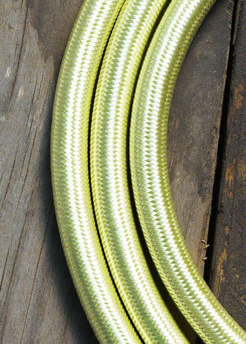 Fabric Lighting Cable - Round - Pastel Green Fabric Lighting Cable WeLoveLeds
