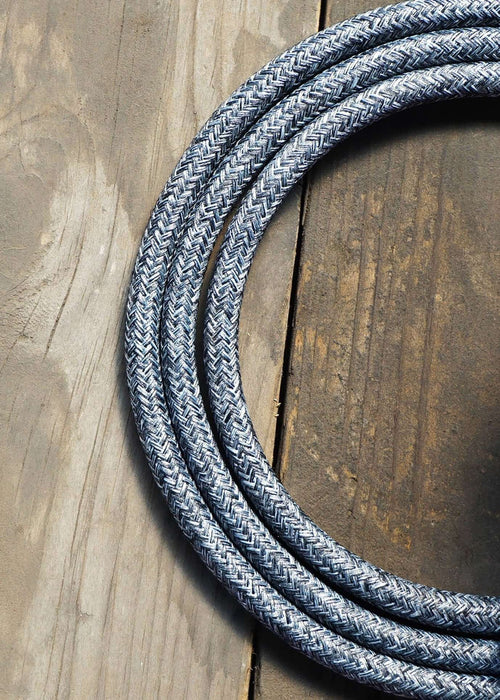Fabric Lighting Cable - Round - Uniform Grey Fabric Lighting Cable WeLoveLeds