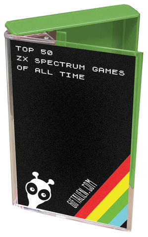 ZX Spectrum game - cassette box