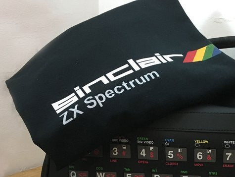 ZX Spectrum Black Retro T-Shirt