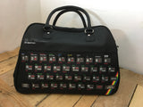 ZX Spectrum large black hold-all/bag