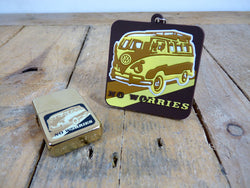 Volkswagen (VW) Camper/Bus keyring and lighter gift set