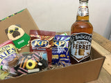 'Be my Valentine', gift box for him (with beer)