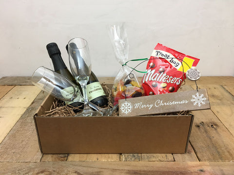 Couples 'Merry Christmas' Festive Gift Box