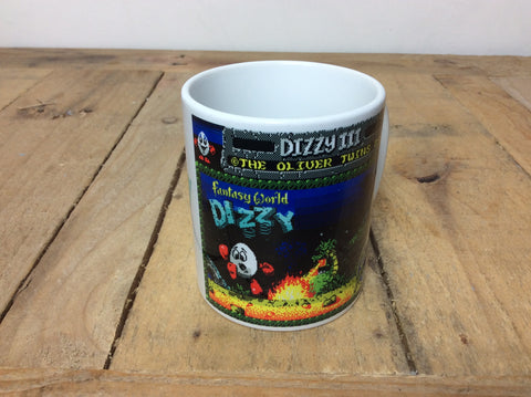 ZX Spectrum 'Dizzy' hot drinks mug