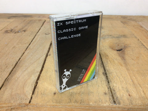"ZX Spectrum ""classic game challenge"" card game"