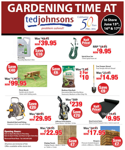 Gardening Time @ Ted Johnsons